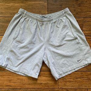 Light Grey Athletic Basketball Shorts